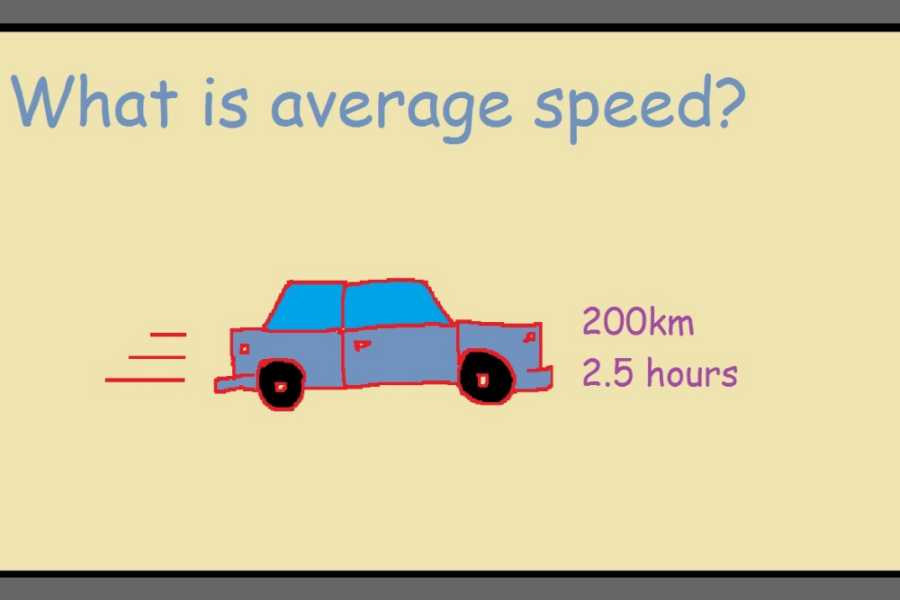 Average Speed Calculator