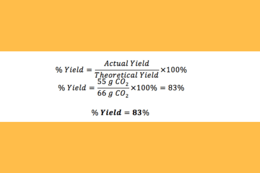 Percent Yield Calculator