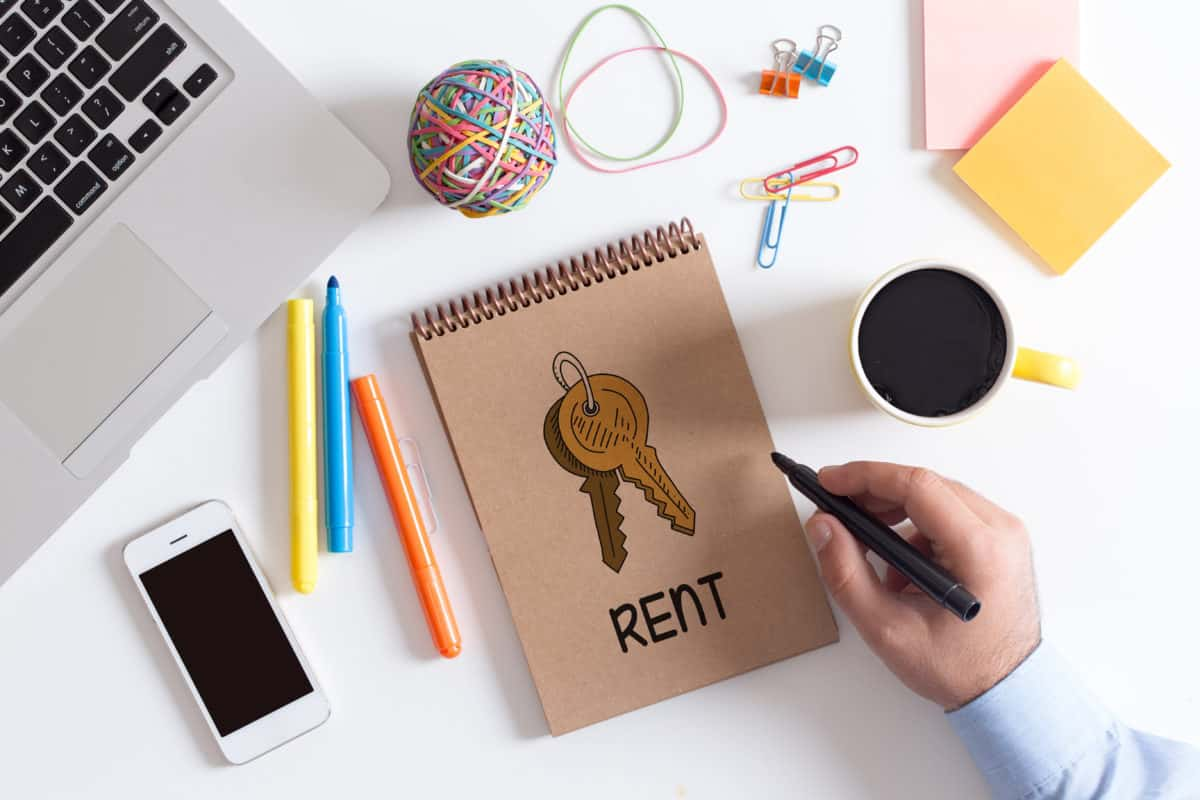 How do you calculate prorated rent?